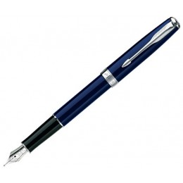 Ручка перьевая Parker Sonnet Laque Deep Blue CT Slim S0833920