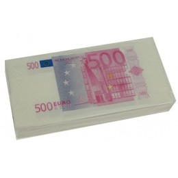 """Сувенир-прикол """"Платочки-500 евро"""""""