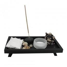 """Японский сад камней """"Смеющийся Будда"""" 20х11см"""