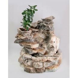 Напольный фонтан - водопад «Денежное дерево»