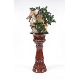 Напольный фонтан «Орёл» (нога цвет коричневый)
