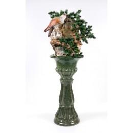 Напольный фонтан «Орёл» (нога цвет зеленый)