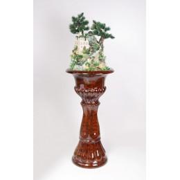 Напольный фонтан «Восточная сказка» (нога цвет коричневый)