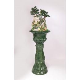 Напольный фонтан «Восточная сказка» (нога цвет зеленый)