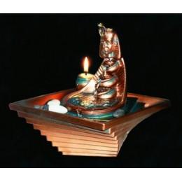 """Настольный фонтан со свечой """"Тутанхамон"""""""