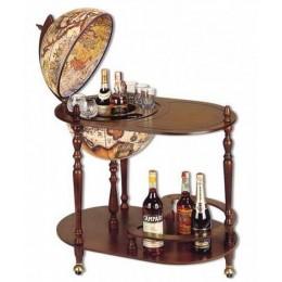 """Глобус бар со столиком """"Барон Унгерн"""""""