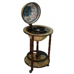 Напольный бар глобус Сокровища древнего мира