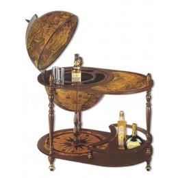 """Напольный глобус бар со столиком """"Фердинанд"""""""