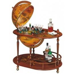 """Напольный глобус-бар со столиком """"Маркиз"""""""