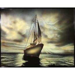 "Картина Swarovski ""Морской закат"""