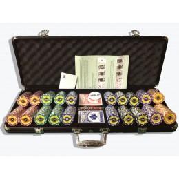 Профессиональный набор для игры в покер Crown 500