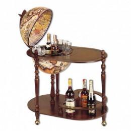 "Глобус-бар со столиком ""Барон Мюнхгаузен"""