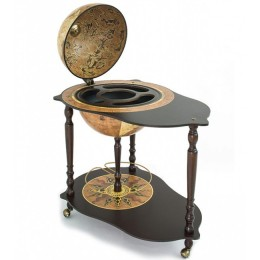 """Глобус-бар со столиком """"Da Vinci"""", сфера 40см"""