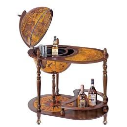"""Глобус-бар со столиком """"Магеллан"""", сфера 42см"""