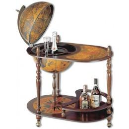 """Глобус-бар со столиком Tre Esse """"Микеланджело"""", сфера 50см"""