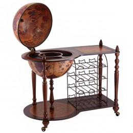 """Глобус бар Tre Esse напольный со столиком """"Cabinet"""""""
