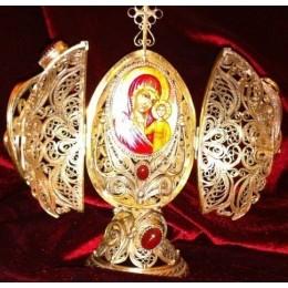 """Яйцо пасхальное сувенирное """"Божья Матерь Казанская"""""""