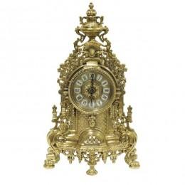 """Часы каминные Alberti Livio """"Помпезность"""" (полир. бронза) h.41см"""
