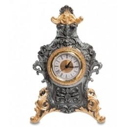 """Часы в стиле барокко Veronese """"Королевский дизайн"""" (black/gold)"""