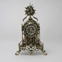 """Декоративные бронзовые часы """"Белмонте"""" (античные), выс.37см"""