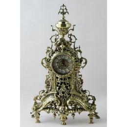 """Декоративные бронзовые часы """"Перфорадо"""", выс.49см"""