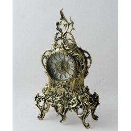 """Декоративные бронзовые часы """"Терена"""", выс.35см"""