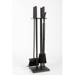 Декоративный каминный набор «Alexander», черный