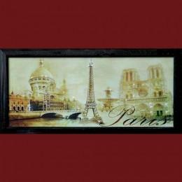 "Картина с кристаллами Swarovski ""Панорама Париж"""