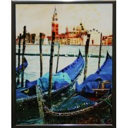 "Картина с кристаллами Swarovski ""Венеция"", 15х20см"