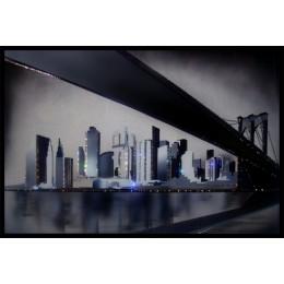 "Картина Сваровски ""Бруклинский мост"", 60 х 40 см"