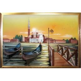 """Картина Сваровски """"Венеция"""", 90 х 65 см"""