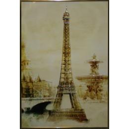 "Картина Swarovski ""Эйфелева башня"", 50х80см"