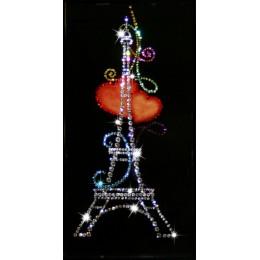 "Картина Swarovski ""Из Парижа с любовью"""
