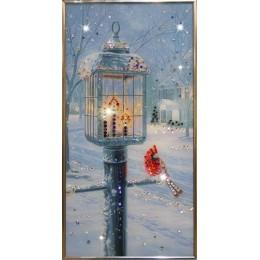 """Картина Swarovski """"Рождественский вечер"""""""