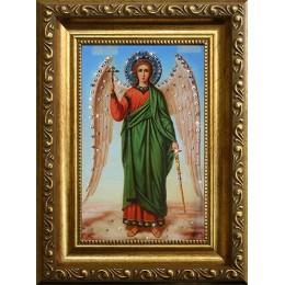 """Картина Сваровски """"Ангел-Хранитель"""" (стеклопечать), 10 х 15 см"""