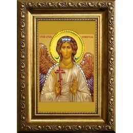 """Картина Сваровски """"Ангел-Хранитель 2"""" (стеклопечать), 10 х 15 см"""
