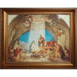 """Картина Сваровски """"Рождение Иисуса Христа"""", 50 х 40 см"""