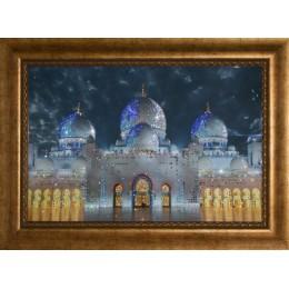 """Картина с кристаллами Swarovski """"Мечеть - Дворец"""", 75 х 55 см"""