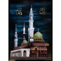 "Картина Сваровски ""Мухаммед Пророк Аллаха"", 65 х 90 см"