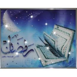 """Картина Swarovski """"Изумрудный Коран"""""""