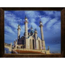 """Картина Swarovski """"Мечеть Кул-Шариф"""", 57х47см"""