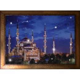 """Картина Swarovski """"Синяя Мечеть"""", 57х47см"""