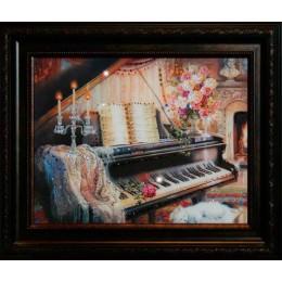 """Картина Swarovski """"Творческий вечер"""""""
