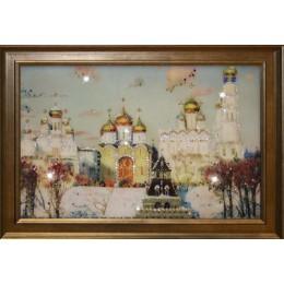 "Картина Swarovski ""Золотые купола"""