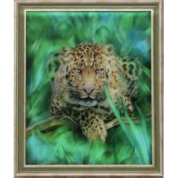"""Картина Swarovski """"Гепард"""", 46,7х56,7см"""