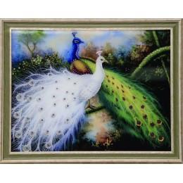 """Картина Swarovski """"Королевские птицы"""", 56,7х46,7см"""