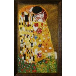 """Картина Swarovski """"Поцелуй Климт"""", 40х70см"""