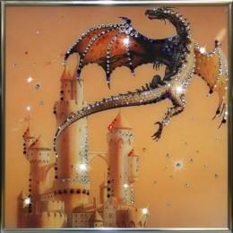 "Картина Swarovski ""Сокровища Дракона"""