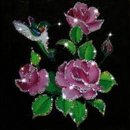 """Картина Swarovski """"Райский сад"""""""