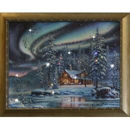 Картина Swarovski «Северное сияние»